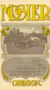 Advertisement of Moiser Apples